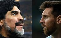 """""""Tung gạch đá"""", Maradona réo gọi đối thủ có thể khiến Messi thảm bại ngay lúc này"""