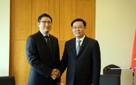 Phó Thủ tướng Vương Đình Huệ làm việc với các Tập đoàn Hàn Quốc đầu tư hàng tỷ USD tại Việt Nam