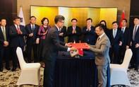 Phó Thủ tướng Vương Đình Huệ chứng kiến Tập đoàn An Phát ký hợp tác sản xuất nguyên liệu sinh học phân hủy hoàn toàn tại Hàn Quốc và Việt Nam trị giá 100 triệu USD