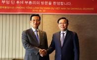 Phó Thủ tướng Vương Đình Huệ mong tăng cường giao lưu nhân dân Việt- Hàn