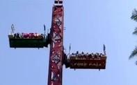"""Vội bưng bít sau khi làm 12 hành khách bị thương, công viên giải trí Ấn Độ không thể thoát khỏi """"lưới trời"""""""