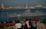 """""""Ẩn tình"""" tàu chiến tối tân Nga đổ bộ Cuba?"""