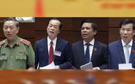 """[Clip] Hỏi thẳng đáp thật giữa đại biểu với các """"Tư lệnh"""" ngành tại phiên chất vấn Quốc hội"""