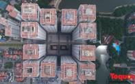 """Hình ảnh từ Flycam điểm mặt những công trình vi phạm về xây dựng của """"đại gia điếu cày"""" Lê Thanh Thản"""