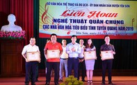 Liên hoan nghệ thuật quần chúng các nhà văn hoá tiêu biểu tỉnh Tuyên Quang năm 2019