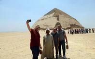 Ai Cập mở cửa Kim tự tháp 4600 năm tuổi thu hút khách du lịch