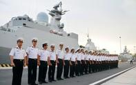 Tàu Hộ vệ tên lửa 016 thăm Liên bang Nga, tham dự duyệt binh