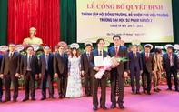 PGS.TS Phùng Gia Thế là Chủ tịch Hội đồng trường ĐH Sư phạm Hà Nội 2 nhiệm kỳ 2017-2022