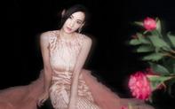 Trương Bá Chi khoe nhan sắc nữ thần trong thiết kế của NTK Tuyết Lê
