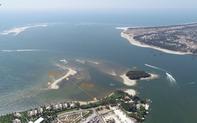 Không tự ý tổ chức đưa khách du lịch ra cồn cát mới nổi ở Cửa Đại, Hội An