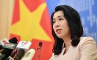 Phản đối Trung Quốc tái diễn vi phạm nghiêm trọng việc xâm phạm vùng biển Việt Nam