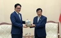 Bộ trưởng Nguyễn Ngọc Thiện tiếp Đại sứ Campuchia chào từ biệt