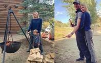 """Rũ bỏ son phấn, áo quần sang chảnh, con gái Tổng thống Trump cùng gia đình """"đưa nhau đi trốn"""", cách tận hưởng cuộc sống của người giàu là đây"""