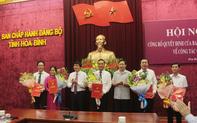 Hòa Bình luân chuyển, bổ nhiệm loạt lãnh đạo