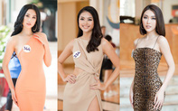 Hoa hậu Tường Linh, Đào Hà và dàn người đẹp quen mặt gợi cảm dự thi Hoa hậu Hoàn vũ