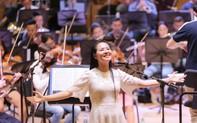 """""""Dàn soái ca"""" vây quanh Sao Mai Phạm Thùy Dung tập luyện cho live concert """"Trăng Hát"""""""