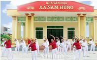 Kết quả ghi nhận sau 9 năm thực hiện tiêu chí văn hóa trong xây dựng nông thôn mới tại Nam Định