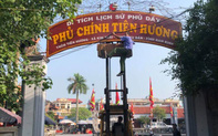 Nam Định dỡ biển tên di tích ở Phủ Dầy: Cần làm rõ và trả lại tên cho di tích