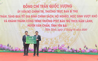 Vietcombank tài trợ 3 tỷ đồng xây dựng trường PTDT  Bán trú THCS Nậm Lành tại huyện Văn Chấn, Yên Bái