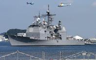 """Trung Quốc """"phản ứng gắt"""" tàu chiến Mỹ đi qua eo biển Đài Loan"""