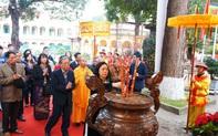 """Lần đầu tiên tái hiện nghi lễ """"Tống cựu nghinh tân"""" tại khu di sản Hoàng thành Thăng Long"""