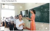 Học sinh thích thú với màn lì xì triệu view của cô giáo Trường Người Ta