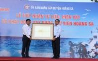 Tiếp nhận 19 Châu bản triều Nguyễn nói về hai quần đảo Hoàng Sa và Trường Sa