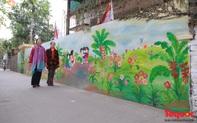 Ngõ nhỏ biến thành phố bích họa ở Hà Nội