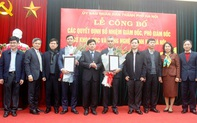 Nhân sự mới Hà Nội, Thành phố Hồ Chí Minh, Bình Thuận