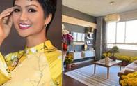 Không gian tổ ấm mới ngập tràn sắc hoa đón Tết của hoa hậu H'Hen Niê