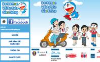 """Triển khai cuộc thi sáng tác khẩu hiệu """"Doraemon với an toàn giao thông"""" nhằm ý thức của người tham gia giao thông"""