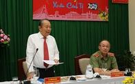 Phó Thủ tướng Thường trực thăm, chúc Tết lực lượng vũ trang tại TP. HCM