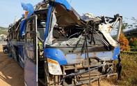 Phú Yên: Xe khách chở 46 người lao xuống ruộng vào đêm mùng 1 Tết