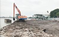 Vì sao Hà Nội tạm dừng thực hiện dự án nạo vét bùn Hồ Tây?