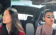 Jenny Huỳnh có ông anh đẹp trai nhưng lầy thật: Chở em đi khắp đất Mỹ nhưng biểu cảm thì đỡ không nổi!