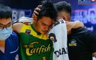 Cầu thủ trẻ đang lên của Cantho Catfish bỏ ngỏ khả năng thi đấu sau khi dính chấn thương đùi trong