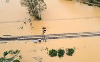 Thiệt hại của ngành đường sắt do cơn bão số 9