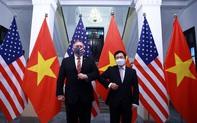 CHÙM ẢNH: Phó Thủ tướng, Bộ trưởng Bộ Ngoại giao Phạm Bình Minh đón, hội đàm Ngoại trưởng Hoa Kỳ