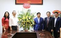 Bộ trưởng Nguyễn Ngọc Thiện chúc mừng tập thể giáo viên trường Đại học Sân khấu Điện ảnh Hà Nội và trường Cán bộ Quản lý VHTTDL nhân ngày 20/11