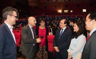 Thứ trưởng Tạ Quang Đông dự Lễ Khai mạc  Liên hoan Phim Châu Âu 2020