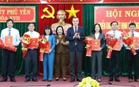 Phú Yên điều động, bổ nhiệm hàng loạt lãnh đạo chủ chốt