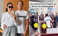 Hà Tăng khoe ảnh tình tứ bên ông xã đại gia, hé lộ phản ứng bất ngờ khi Louis Nguyễn bị fan nữ quây kín