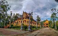 Tu bổ Chánh điện và Thư viện di tích chùa KomPong, tỉnh Trà Vinh