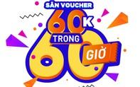 """Săn ngay bộ tứ voucher ưu đãi khủng trong """"60 giờ mua sắm trực tuyến Việt Nam"""""""