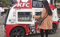 KFC dùng ô tô tự lái để giao gà rán ở Trung Quốc