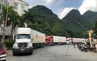 Cửa khẩu Quốc tế Hữu Nghị đang tồn 376 xe nông sản