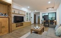 Căn hộ 110m² với 3 phòng ngủ ở Tây Hồ có chi phí hoàn thiện nội thất 290 triệu