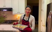 """Lại thêm một màn """"hack não"""" khó lường đến từ Hoa hậu Phạm Hương: Làm vlog khoe nấu ăn đảm nhưng nhất định gọi King Crab là cua Tuyết"""