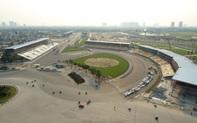 Đếm ngược 44 ngày trước giờ khởi tranh, đường đua F1 Hà Nội gấp rút hoàn thiện