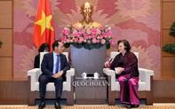 Chủ tịch Quốc hội tiếp Đại sứ Hàn Quốc và Đại sứ Australia